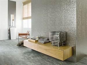 metallic effect tiles metal effect wall tiles porcelanosa With parquet de meaux