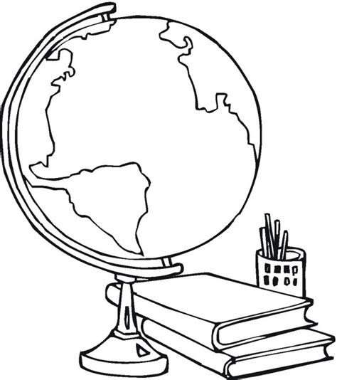 school  education coloring pages