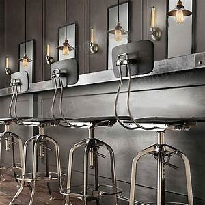 American countryside industrial retro bar table pendant