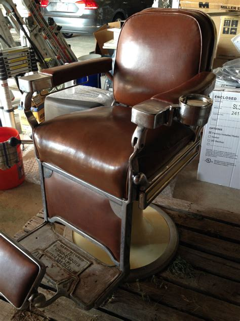 theo a koch s antique barber chair