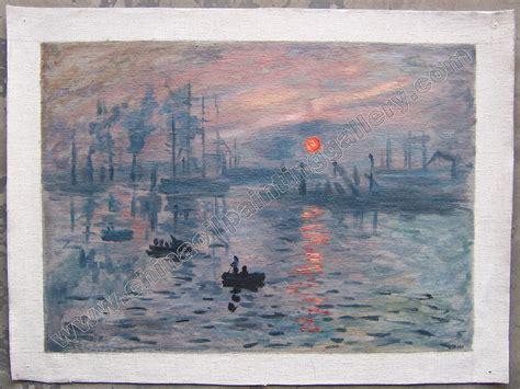 impression sunrise monet oil painting reproduction