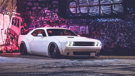 Dodge Challenger Hd 5k Wallpaper  Hd Car Wallpapers Id
