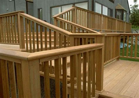 patio deck railing design february