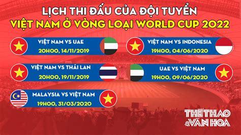 Các bảng đấu tại vòng loại world cup 2022 khu vực châu á. Lịch thi đấu vòng loại World Cup 2022. Thái Lan thưởng 11,4 tỷ. Bóng đá Việt Nam   TTVH Online