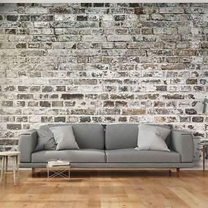 Papier Peint Deco : papier peint d co effet mur de briques papier peint ~ Voncanada.com Idées de Décoration