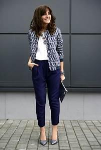Look Chic Femme : comment porter le pantalon carotte nos conseils en photos ~ Melissatoandfro.com Idées de Décoration