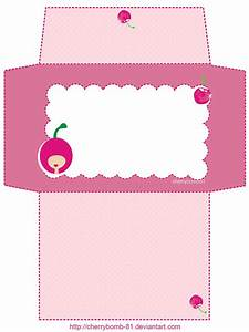 stationery envelope cute pink by cherrybomb 81deviantart With pink letter envelopes