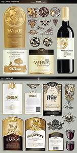 14 wine label template psd images free wine label With design wine labels online free
