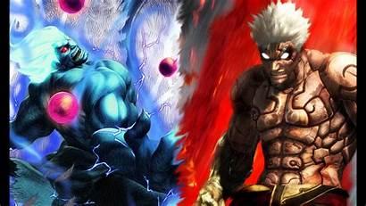 Oni Wallpapers Akuma Mask Fighter Street Dark