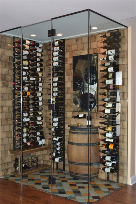 gorgeous wall mounted wine racks  wine cellar