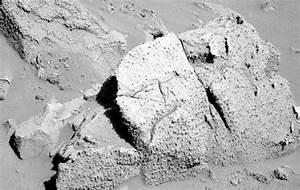Extraña cara de una posible antigua civilización apareció ...