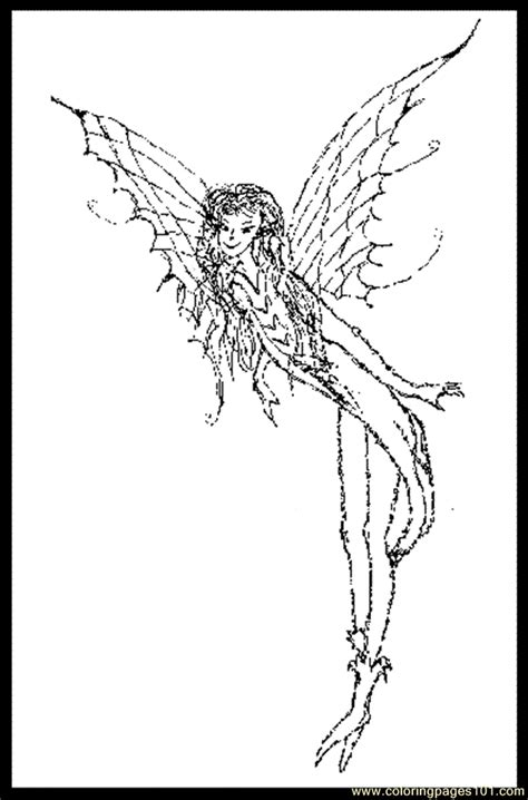 loring pages  fairy pixie coloring page  butterfly coloring pages coloringpagescom