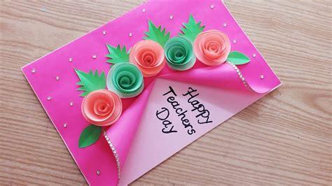 special handmade teachers day card beautiful teachers