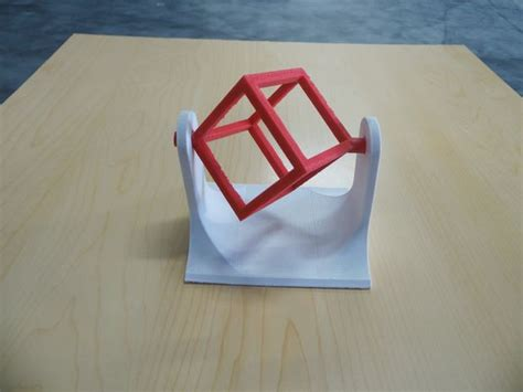 3d printed desk toys 3d printed wire frame cube spinner desk toy all
