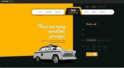 Taxi Website Templates Company Template Web Service