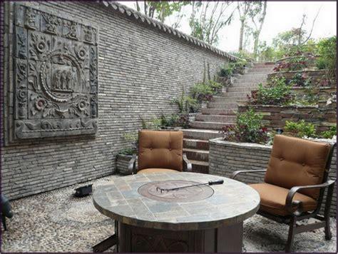 unique garden wall ideas for patio 2915
