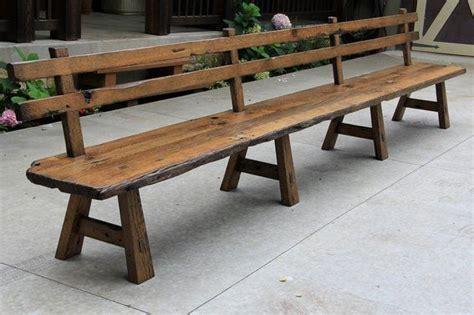 ideas  wooden benches  pinterest wooden bench plans diy wood bench  diy bench