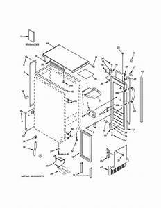 Ge Zdic150wbbc Freestanding Ice Maker Parts