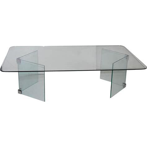 table basse verre transparent ezooq