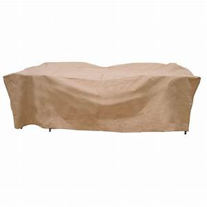 hearth garden polyester deluxe rectangular patio table With polyester patio furniture covers