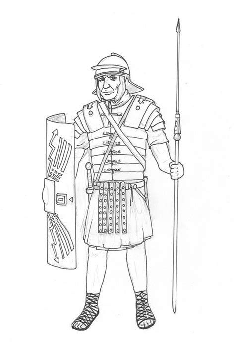roman soldier drawing bing images soldier drawing