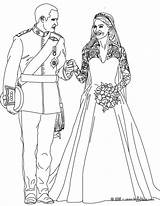 Bride Coloring Pages Getcolorings Princess sketch template