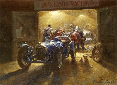 automobile art fearnley alan wee small hours