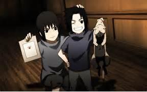 kids itachi and sasuke...