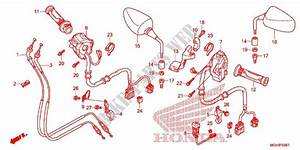 Switch Cable Mirror  Vfr1200xd  For Honda Crosstourer 1200