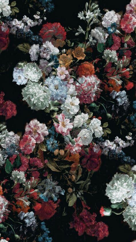 aesthetic flowers wallpapers  wallpapersafari