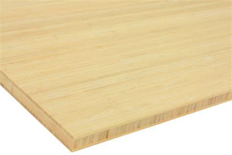 bureau en bambou plateau bambou naturel prémium la boutique du bois