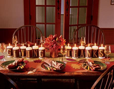Seekingdecor Thanksgiving Table Decoration Ideas