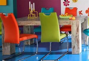 Retro Esstisch Stühle : esstisch im vintage stil richtiger eyecatcher ~ Markanthonyermac.com Haus und Dekorationen