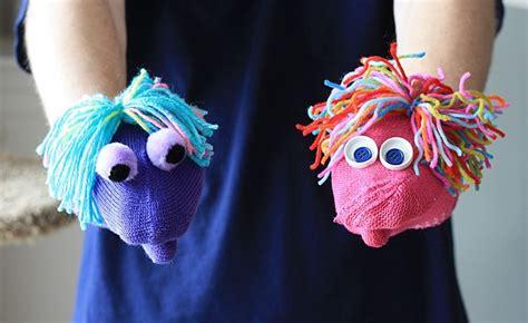 easy mitten puppets crafts  amanda