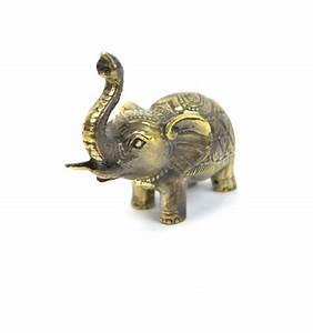 Elephant Porte Bonheur : statuette l phant trompe en l 39 air amulette porte bonheur emporter ~ Melissatoandfro.com Idées de Décoration