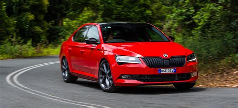 skoda superb  review price features