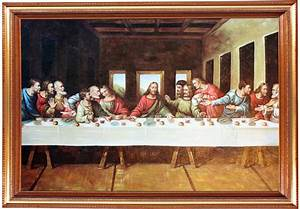 The Last Supper Beautiful oil painting on by LovelyFurnishings