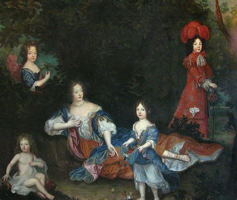 montespan and children by king louis xiv by grand gogm