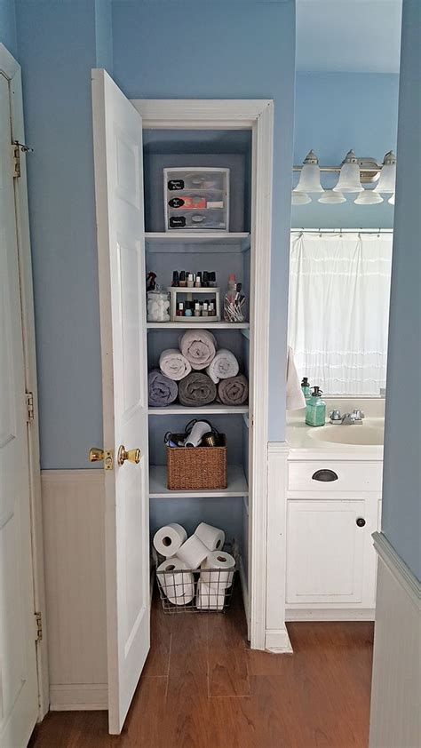 bathroom linen closet ideas best 25 small linen closets ideas on a small