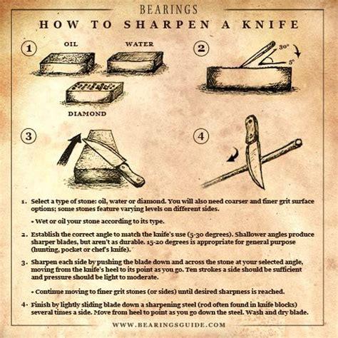 how to sharpen a knife how to sharpen a knife prepare 911 pinterest