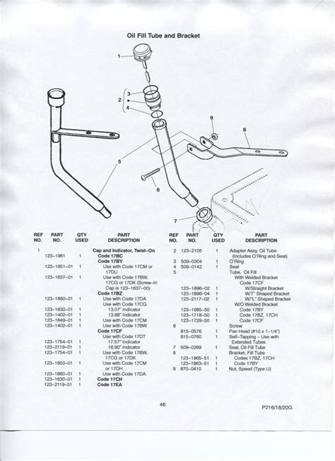 Ranger 8 Welder Part Diagram by I Am Tring To Locate A Dipstick With Cap Maybe Complete