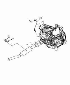 2004 Chrysler Sebring Sensor  Oxygen  Engine  Sensors