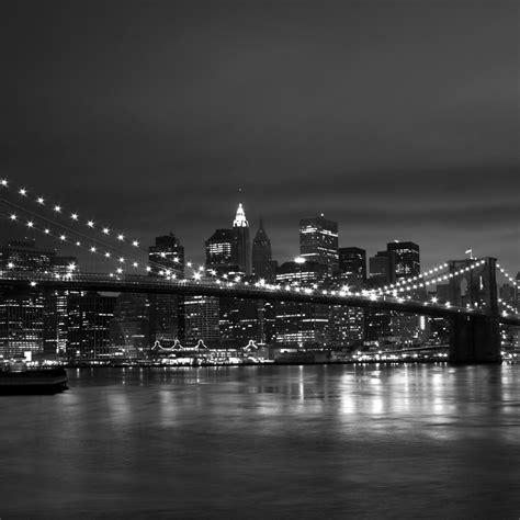 New York Black White 1280x1280 Picture, New York Black