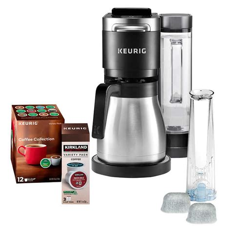 With less waste and a more easily customized taste than standard coffee pots, you're sure to find a single serve coffee brew up the perfect cup with single serve coffee makers that are all about your preferences. Keurig K-Duo Plus Coffee Maker, with Single Serve K-Cup Pod and 12 Cup Carafe Brewer, Black ...