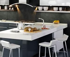 Küche Mit Integriertem Tisch : preview ~ Bigdaddyawards.com Haus und Dekorationen