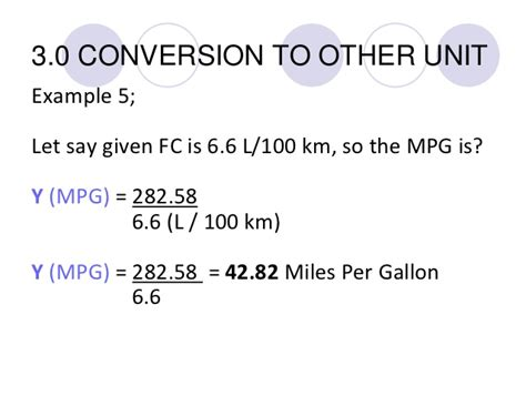 How To Calculate Your Fuel Consumption (fc