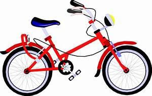 Red Bicycle Clip Art at Clker.com - vector clip art online ...