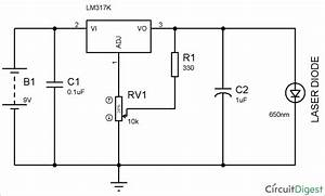 Circuit Diagram Of Laser Diode Driver Circuit Design In