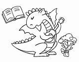 Dragon Poet Coloring Coloringcrew Japanese Dragons sketch template