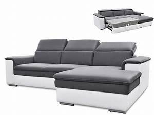canape d39angle convertible connor avec tetieres relax 3 With canape angle convertible tetiere